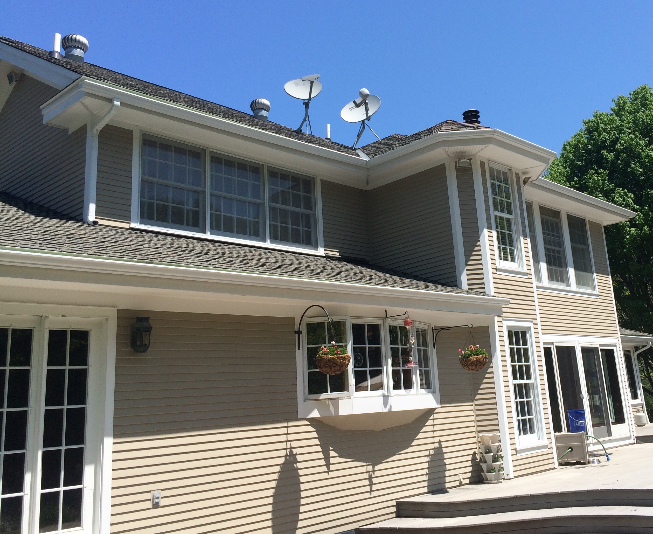 rochester gutters repair fix companies irondequoit webster penfield ny